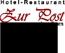 Zur Post Landkern - Hotel Restaurant